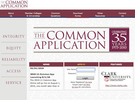 common_application